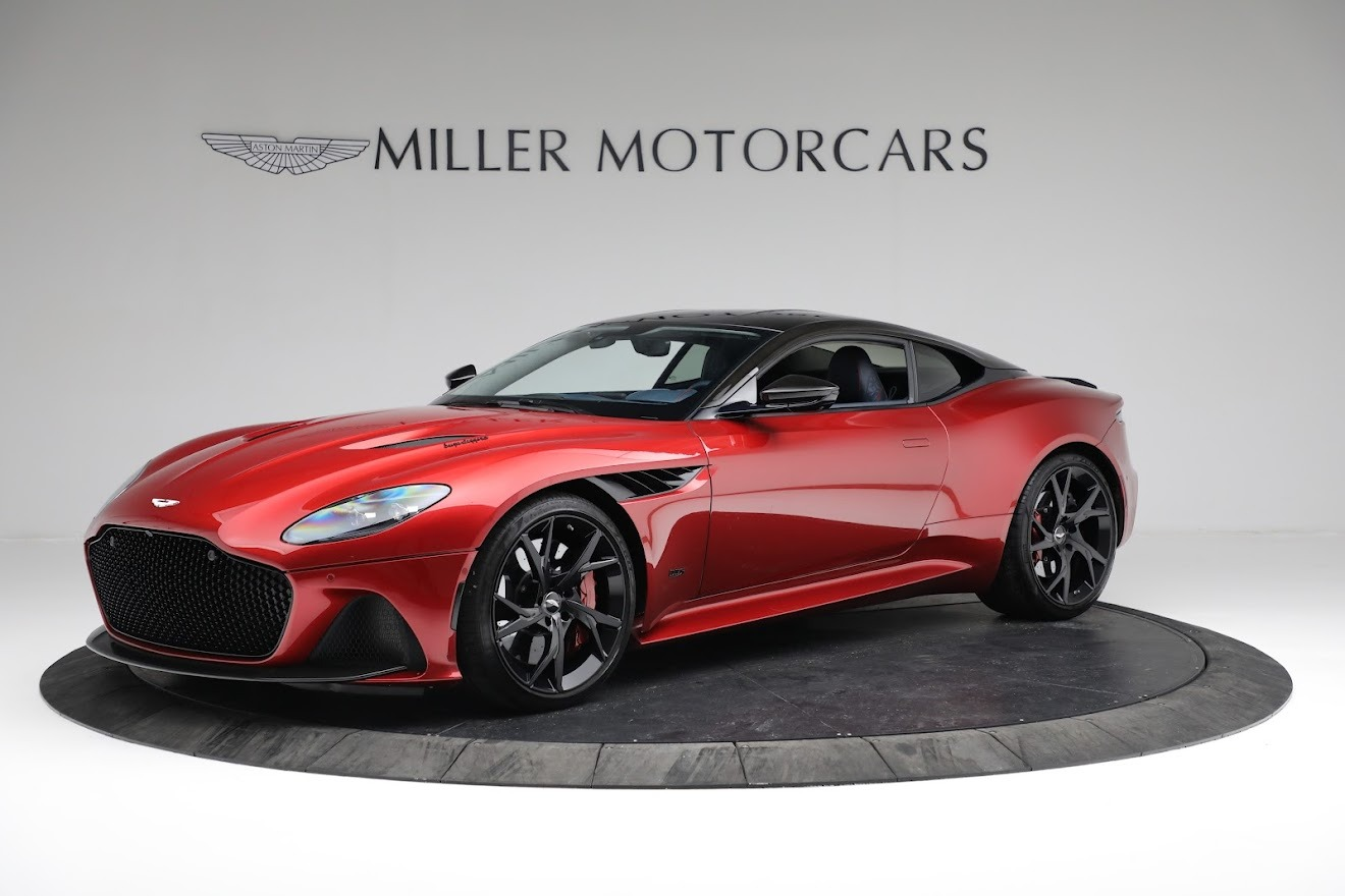 Used 2019 Aston Martin DBS Superleggera for sale $259,900 at McLaren Greenwich in Greenwich CT 06830 1