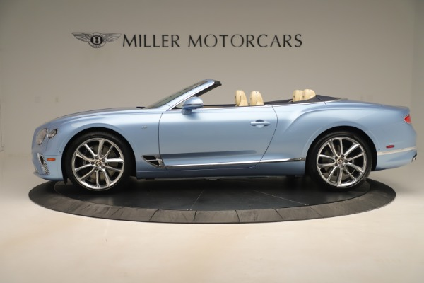 New 2020 Bentley Continental GTC V8 for sale Sold at McLaren Greenwich in Greenwich CT 06830 3