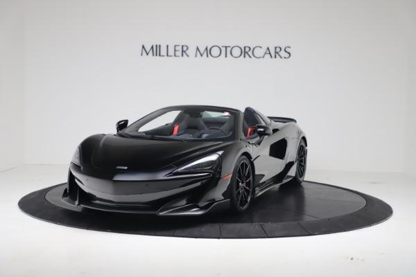 New 2020 McLaren 600LT SPIDER Convertible for sale Sold at McLaren Greenwich in Greenwich CT 06830 2