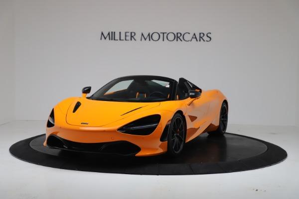 New 2020 McLaren 720S Spider Convertible for sale $374,440 at McLaren Greenwich in Greenwich CT 06830 2