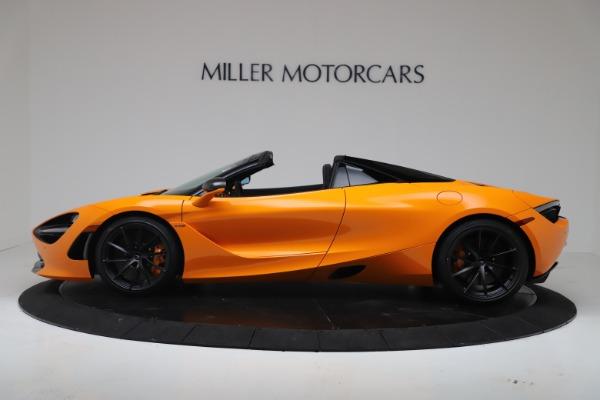 New 2020 McLaren 720S Spider Convertible for sale $374,440 at McLaren Greenwich in Greenwich CT 06830 3