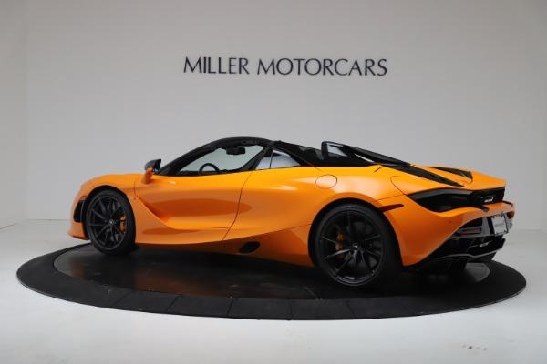 New 2020 McLaren 720S Spider Performance for sale $374,440 at McLaren Greenwich in Greenwich CT 06830 4