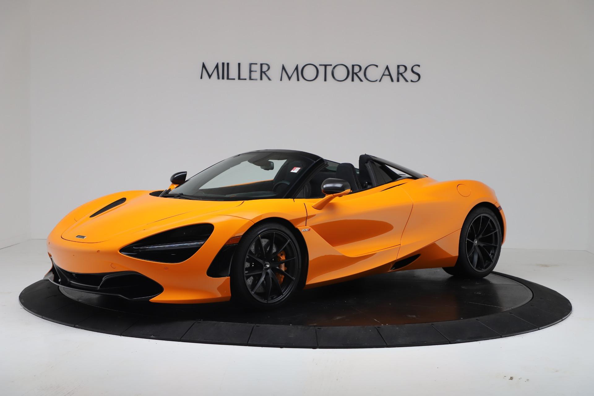 New 2020 McLaren 720S Spider Convertible for sale $374,440 at McLaren Greenwich in Greenwich CT 06830 1