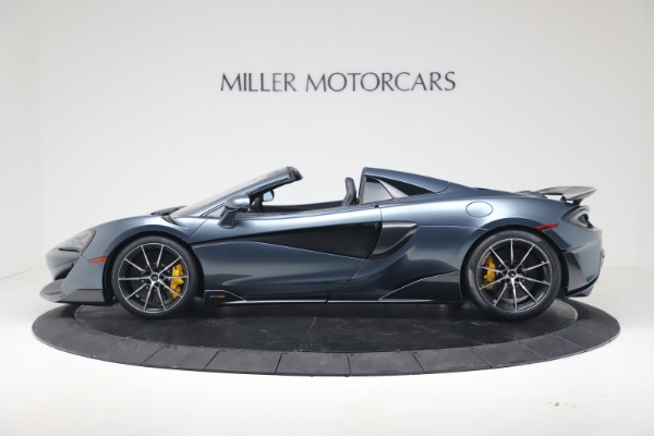 New 2020 McLaren 600LT SPIDER Convertible for sale Sold at McLaren Greenwich in Greenwich CT 06830 3