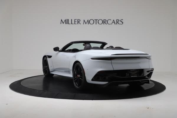 New 2020 Aston Martin DBS Superleggera Volante Convertible for sale Sold at McLaren Greenwich in Greenwich CT 06830 4