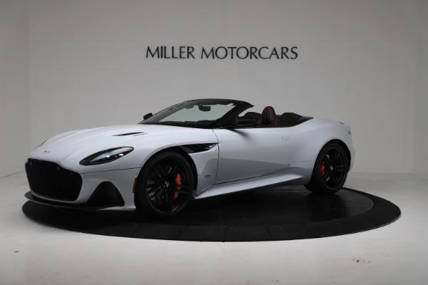 New 2020 Aston Martin DBS Superleggera Volante Convertible for sale Sold at McLaren Greenwich in Greenwich CT 06830 1