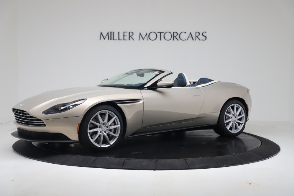 New 2020 Aston Martin DB11 Volante Convertible for sale $255,556 at McLaren Greenwich in Greenwich CT 06830 1