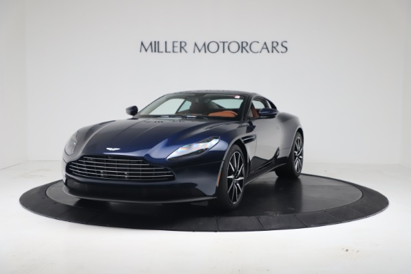 Used 2020 Aston Martin DB11 V8 Coupe for sale $199,990 at McLaren Greenwich in Greenwich CT 06830 2