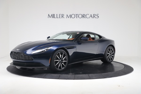 Used 2020 Aston Martin DB11 V8 Coupe for sale $199,990 at McLaren Greenwich in Greenwich CT 06830 1