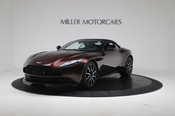 Used 2020 Aston Martin DB11 Volante Convertible for sale Call for price at McLaren Greenwich in Greenwich CT 06830 4