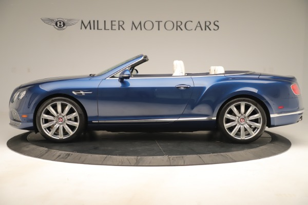 Used 2017 Bentley Continental GTC V8 for sale $154,900 at McLaren Greenwich in Greenwich CT 06830 3