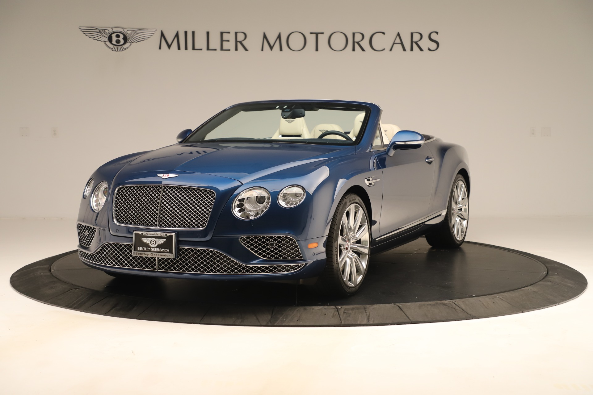 Used 2017 Bentley Continental GTC V8 for sale $154,900 at McLaren Greenwich in Greenwich CT 06830 1