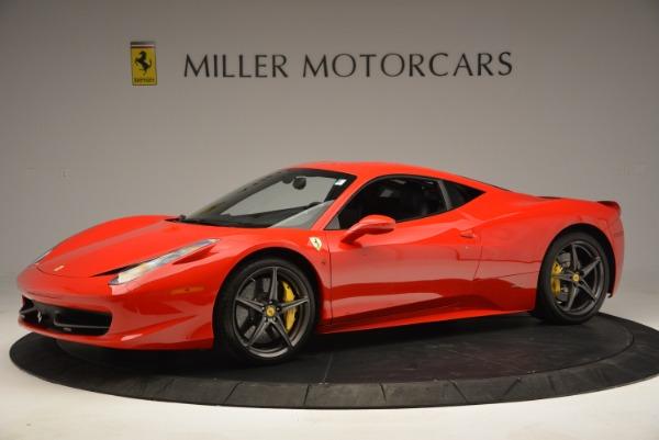 Used 2013 Ferrari 458 Italia for sale Sold at McLaren Greenwich in Greenwich CT 06830 2