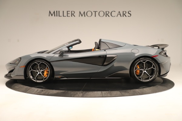 New 2020 McLaren 600LT SPIDER Convertible for sale Sold at McLaren Greenwich in Greenwich CT 06830 2