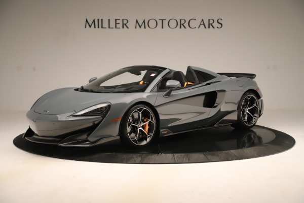New 2020 McLaren 600LT SPIDER Convertible for sale Sold at McLaren Greenwich in Greenwich CT 06830 1