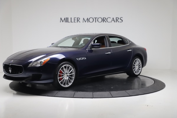 Used 2016 Maserati Quattroporte S Q4 for sale Sold at McLaren Greenwich in Greenwich CT 06830 2