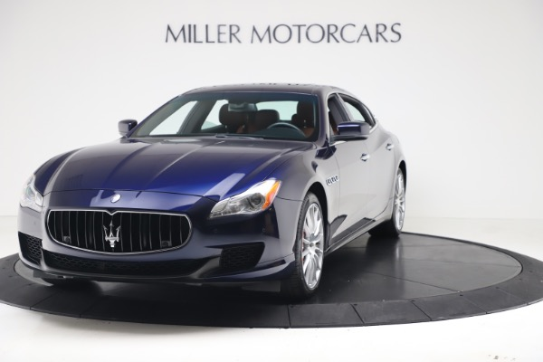 Used 2016 Maserati Quattroporte S Q4 for sale Sold at McLaren Greenwich in Greenwich CT 06830 1