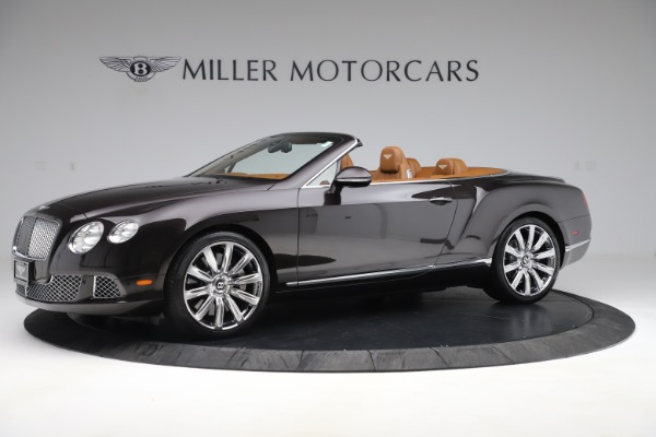 Used 2013 Bentley Continental GT W12 for sale Sold at McLaren Greenwich in Greenwich CT 06830 2
