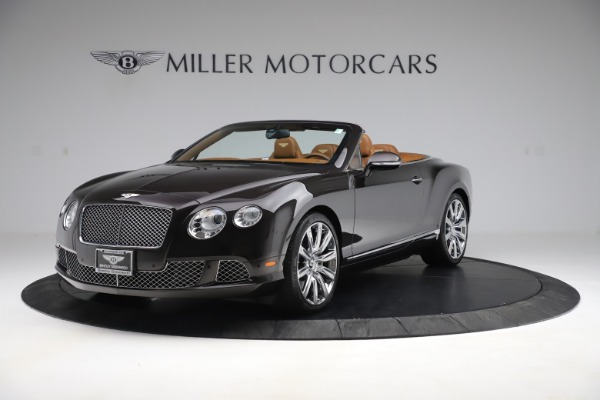 Used 2013 Bentley Continental GT W12 for sale Sold at McLaren Greenwich in Greenwich CT 06830 1