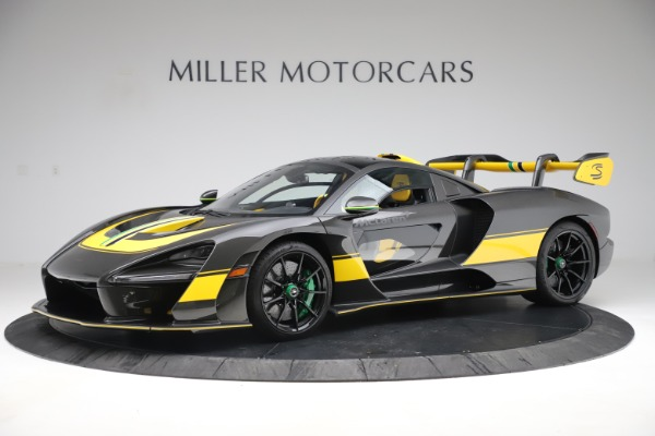 Used 2019 McLaren Senna for sale Sold at McLaren Greenwich in Greenwich CT 06830 1