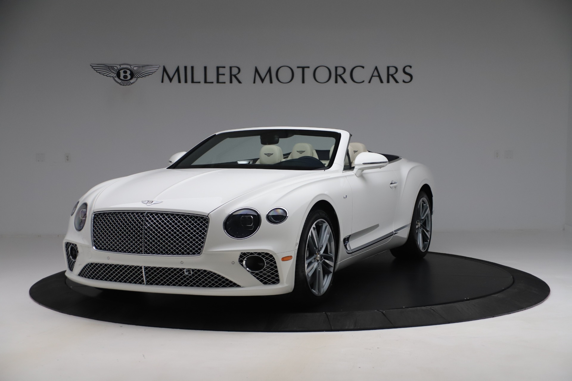 New 2020 Bentley Continental GTC V8 for sale Sold at McLaren Greenwich in Greenwich CT 06830 1