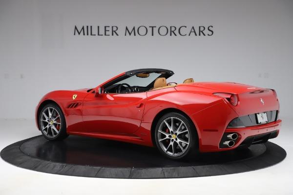 Used 2013 Ferrari California 30 for sale $114,900 at McLaren Greenwich in Greenwich CT 06830 4