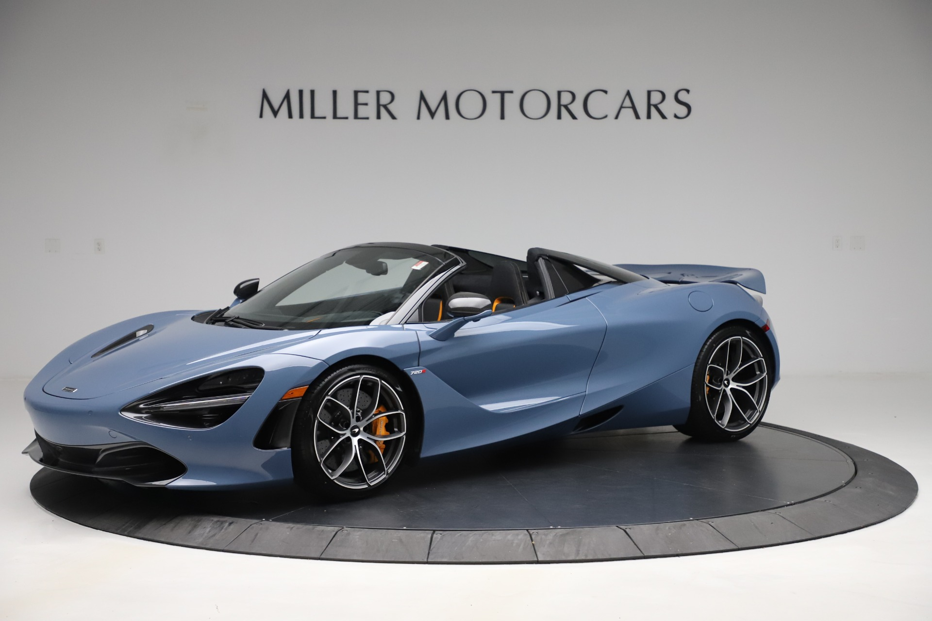 New 2020 McLaren 720S Spider Convertible for sale Sold at McLaren Greenwich in Greenwich CT 06830 1