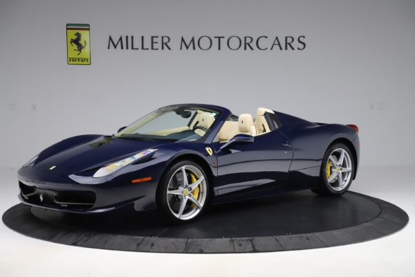 Used 2013 Ferrari 458 Spider for sale Sold at McLaren Greenwich in Greenwich CT 06830 2