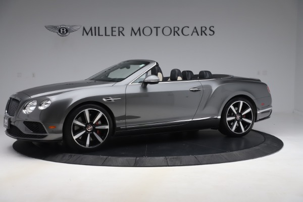 Used 2016 Bentley Continental GTC V8 S for sale Sold at McLaren Greenwich in Greenwich CT 06830 2