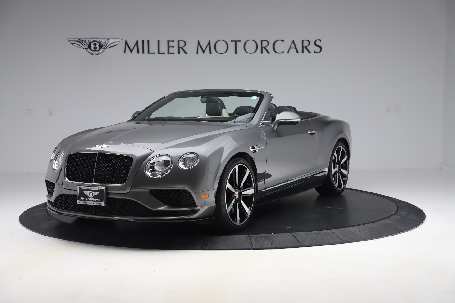Used 2016 Bentley Continental GTC V8 S for sale Sold at McLaren Greenwich in Greenwich CT 06830 1