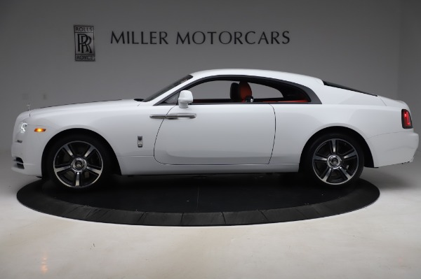 New 2020 Rolls-Royce Wraith for sale $392,325 at McLaren Greenwich in Greenwich CT 06830 3