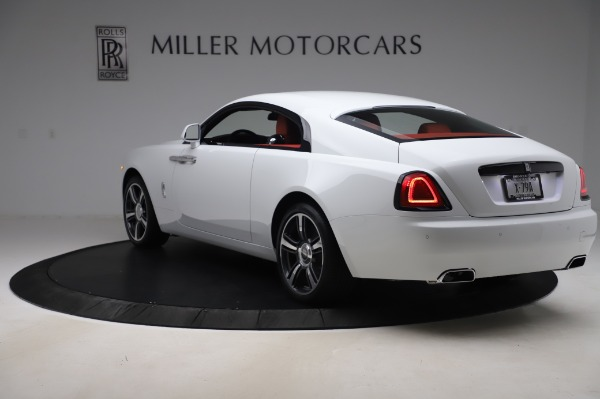New 2020 Rolls-Royce Wraith for sale $392,325 at McLaren Greenwich in Greenwich CT 06830 4