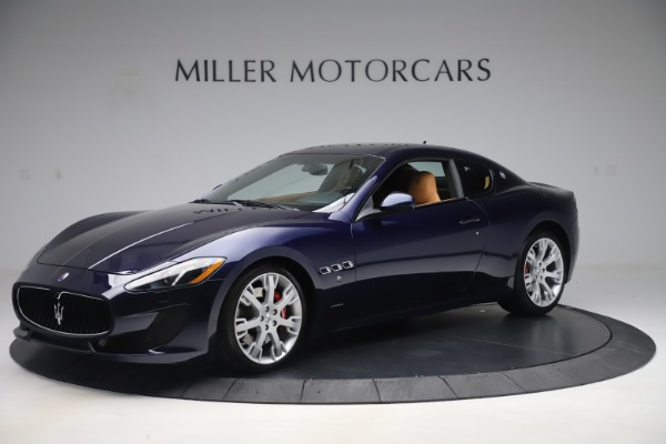 Used 2016 Maserati GranTurismo Sport for sale Sold at McLaren Greenwich in Greenwich CT 06830 2