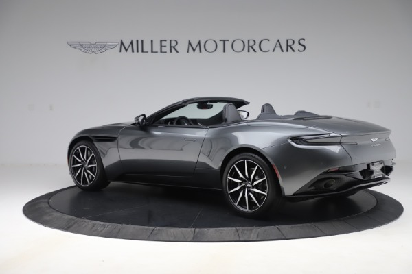 New 2020 Aston Martin DB11 Volante Convertible for sale Sold at McLaren Greenwich in Greenwich CT 06830 3