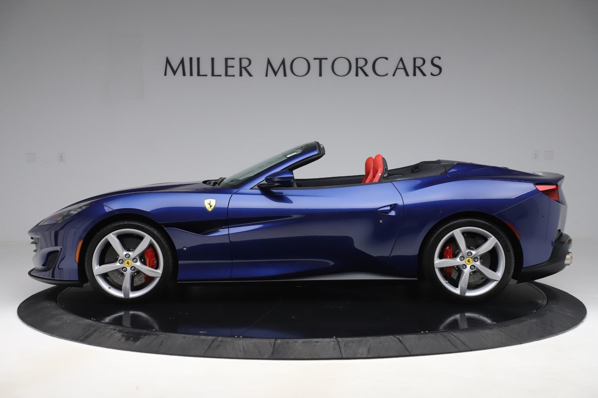 Pre Owned 2019 Ferrari Portofino For Sale Special Pricing Mclaren Greenwich Stock 4617