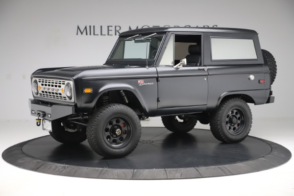 Used 1972 Ford Bronco Icon for sale Sold at McLaren Greenwich in Greenwich CT 06830 2