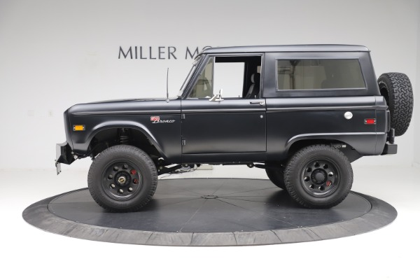 Used 1972 Ford Bronco Icon for sale Sold at McLaren Greenwich in Greenwich CT 06830 3