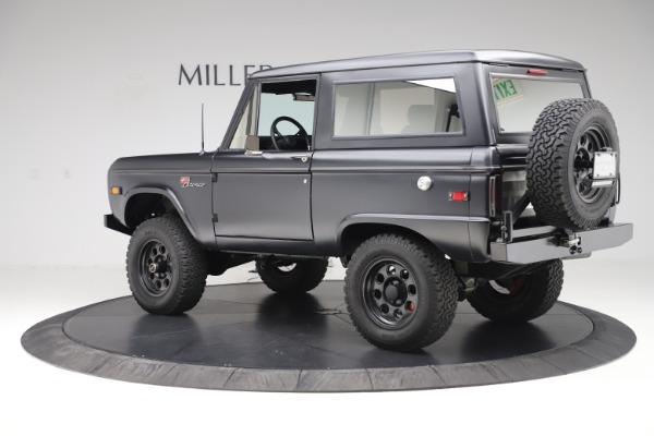 Used 1972 Ford Bronco Icon for sale Sold at McLaren Greenwich in Greenwich CT 06830 4