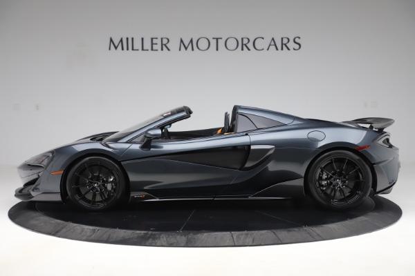 New 2020 McLaren 600LT SPIDER Convertible for sale $309,620 at McLaren Greenwich in Greenwich CT 06830 2