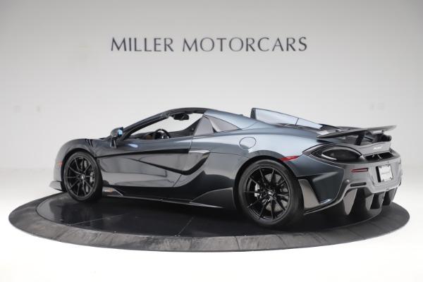 New 2020 McLaren 600LT SPIDER Convertible for sale $309,620 at McLaren Greenwich in Greenwich CT 06830 3