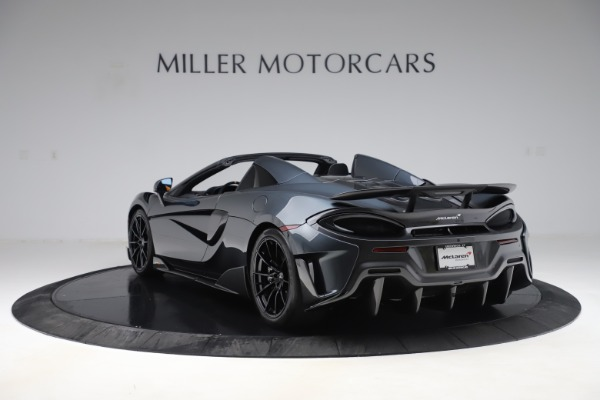 New 2020 McLaren 600LT SPIDER Convertible for sale $309,620 at McLaren Greenwich in Greenwich CT 06830 4