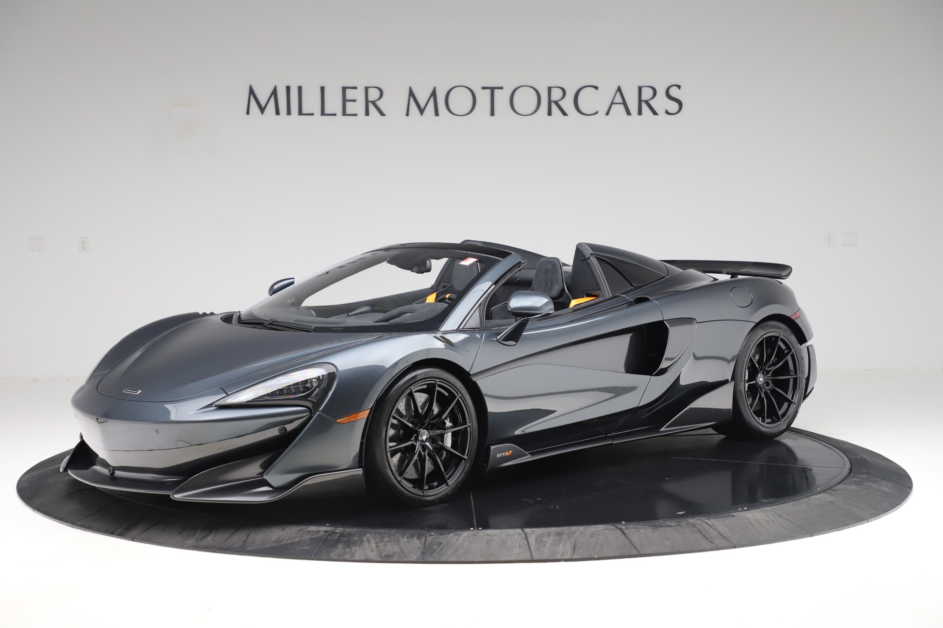 New 2020 McLaren 600LT SPIDER Convertible for sale $309,620 at McLaren Greenwich in Greenwich CT 06830 1