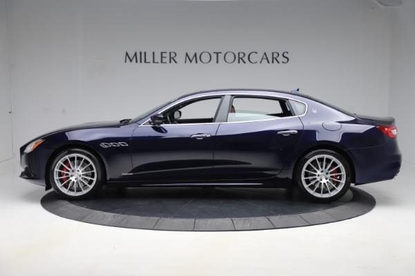Used 2017 Maserati Quattroporte S Q4 GranLusso for sale Sold at McLaren Greenwich in Greenwich CT 06830 3
