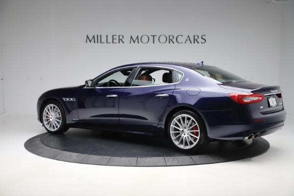 Used 2017 Maserati Quattroporte S Q4 GranLusso for sale Sold at McLaren Greenwich in Greenwich CT 06830 4