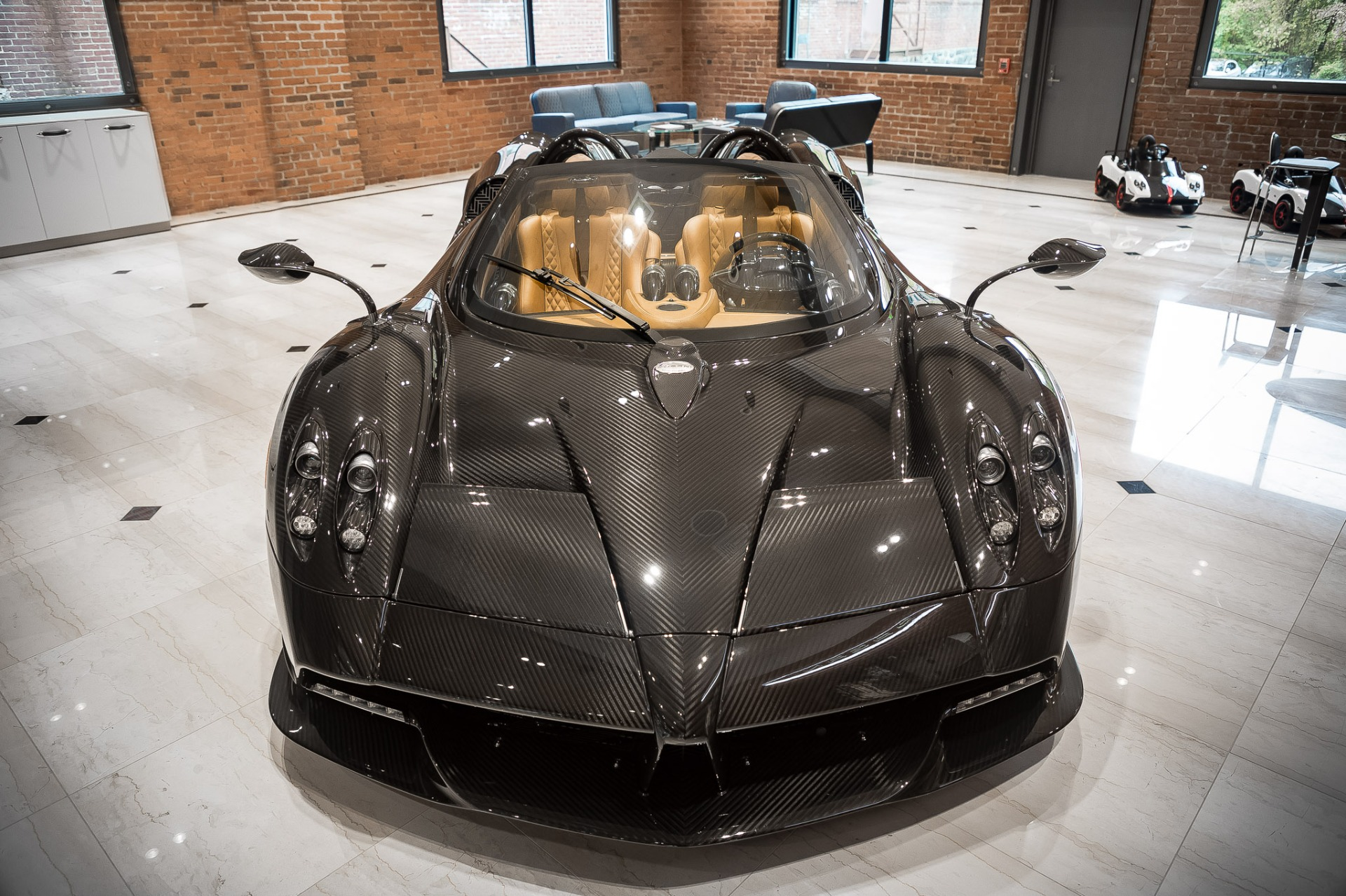Used 2017 Pagani Huayra Roadster Roadster for sale Call for price at McLaren Greenwich in Greenwich CT 06830 1