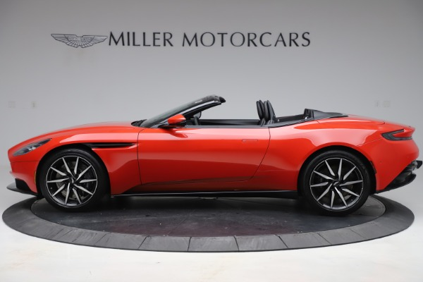 New 2020 Aston Martin DB11 Volante Convertible for sale $254,531 at McLaren Greenwich in Greenwich CT 06830 2