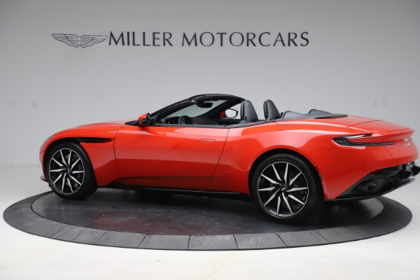New 2020 Aston Martin DB11 Volante Convertible for sale $254,531 at McLaren Greenwich in Greenwich CT 06830 3