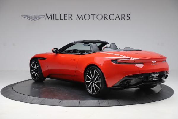 New 2020 Aston Martin DB11 Volante Convertible for sale $254,531 at McLaren Greenwich in Greenwich CT 06830 4