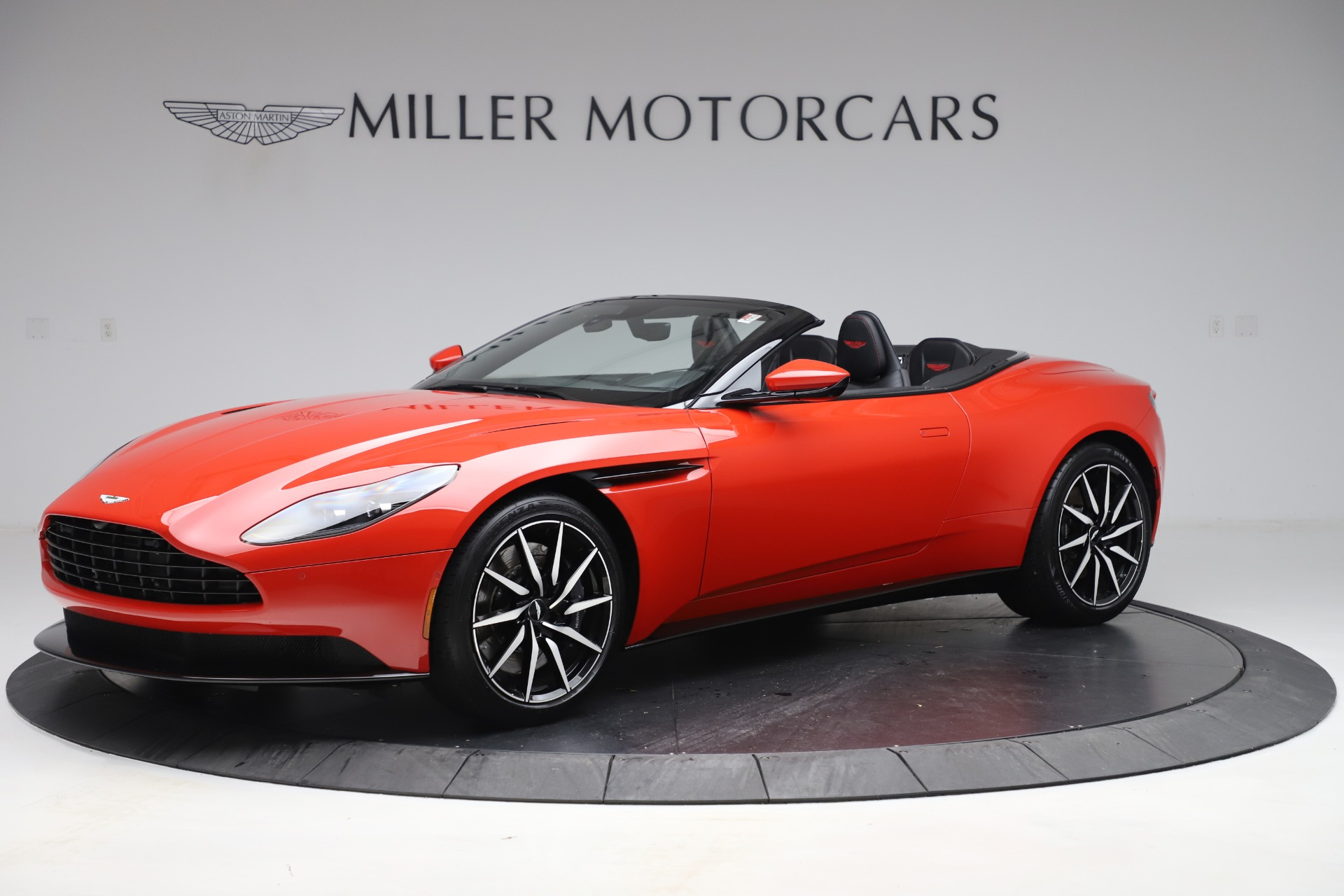 New 2020 Aston Martin DB11 Volante Convertible for sale $254,531 at McLaren Greenwich in Greenwich CT 06830 1