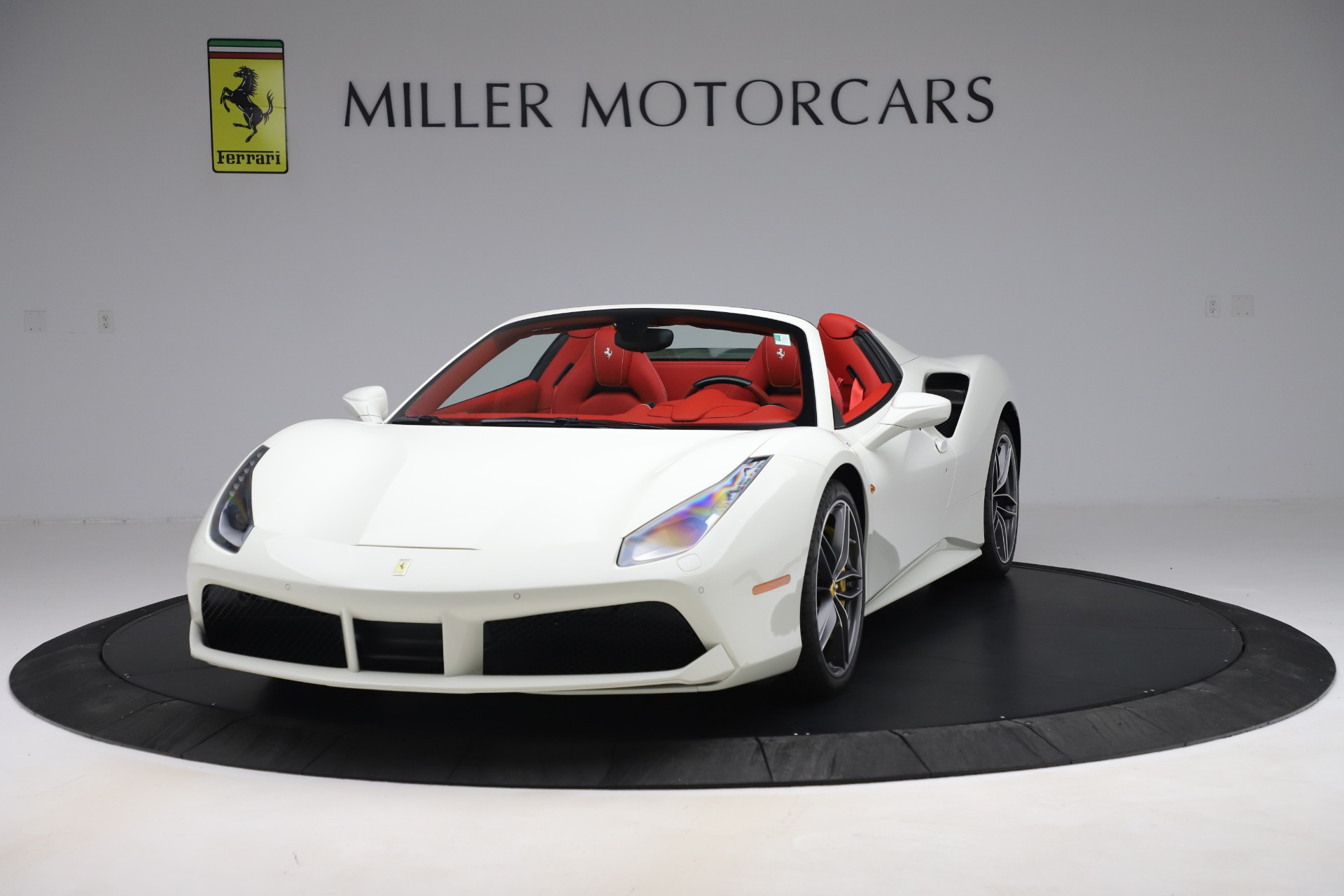 Used 2018 Ferrari 488 Spider for sale Sold at McLaren Greenwich in Greenwich CT 06830 1